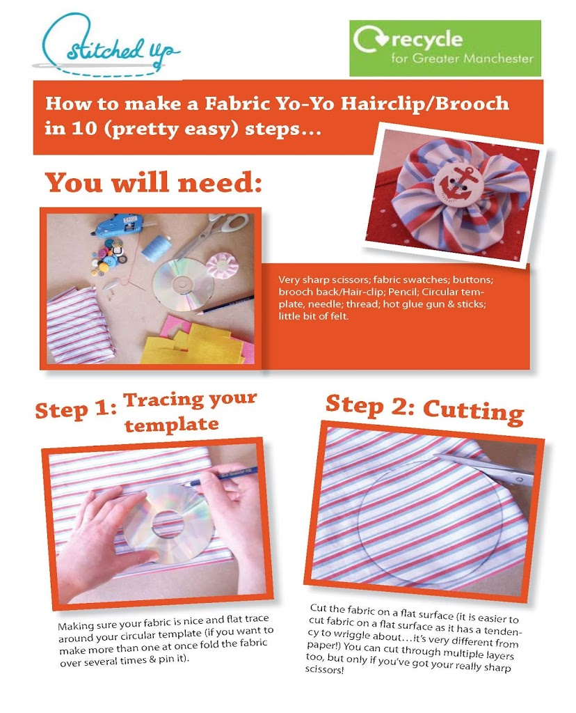 make your own brooch with this tutorial u0026 free download stitched up